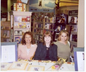 Kathie Dior's book signing at Barnes and Noble
